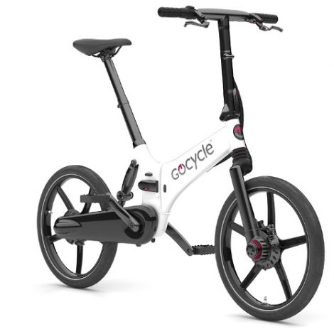 Gocycle GX bianca